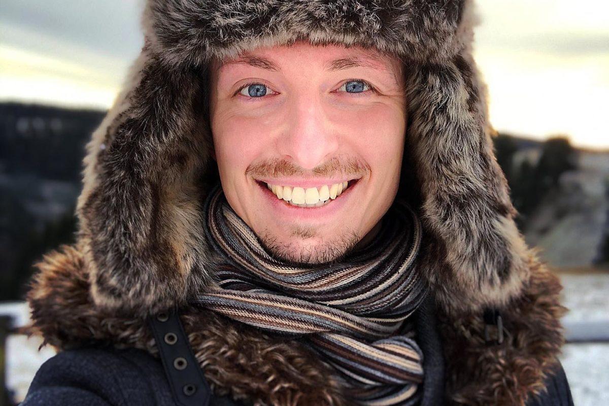 Ich weiß es sieht aus, als wäre ich gestern in Sibirien gewesen. aber ich war m ...