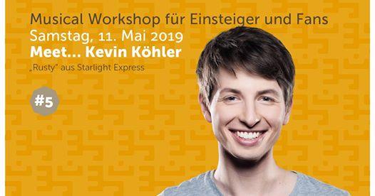 Kevin Köhler: Fanworkshop! * Ausgebucht! *