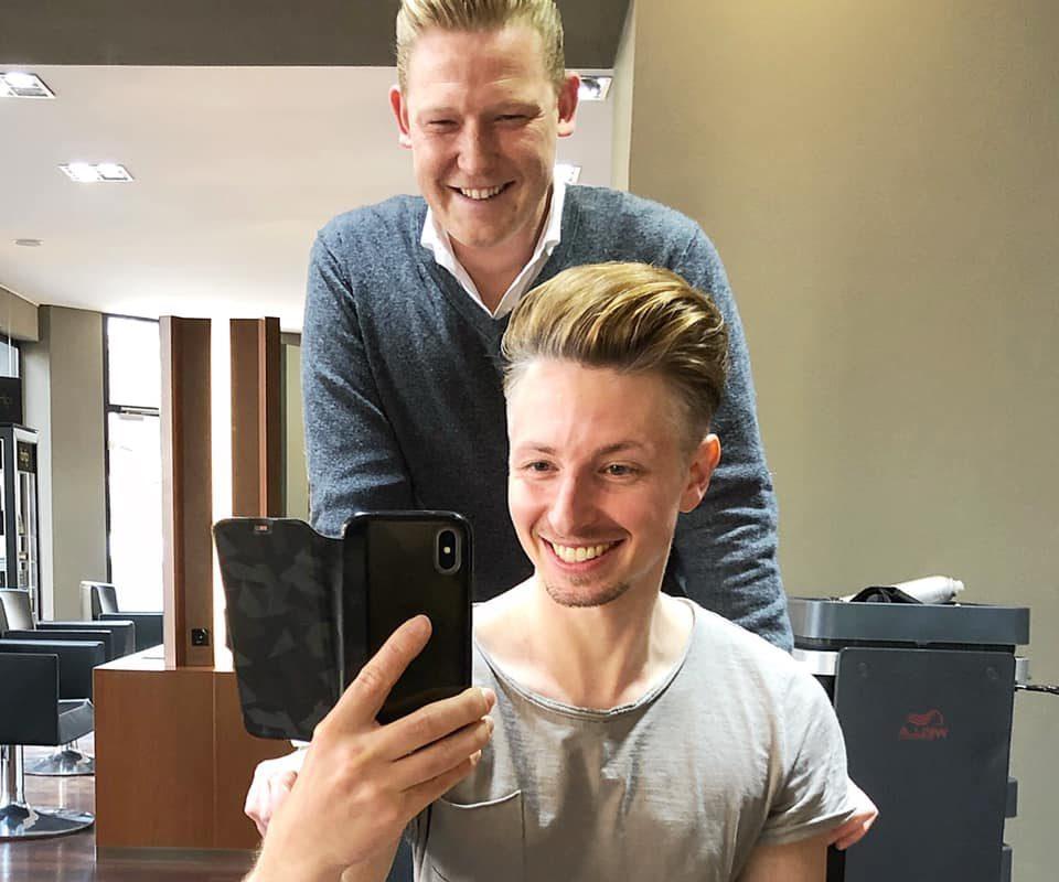 Danke an @andreas_reetz @modshair_recklinghausen für meinen neuen Haarschnitt. ...