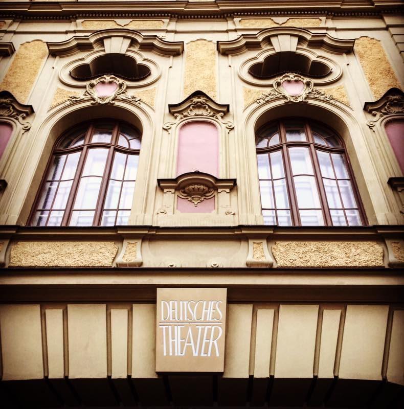 Deutsches Theater München. Hier sind wir. # münchen # glöcknermünchen #musical #onto ...
