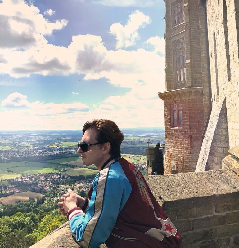 Erinnere mich immer wieder gern am Schloss Hohenzollern. Was ein wundervoller Ta ...