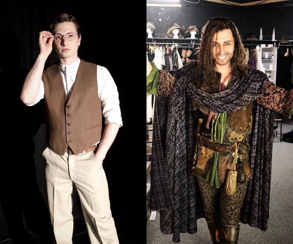 "Erster Jurastudent Nathan Leopold im Musical ""Thrill me"", heute Clopin im ..."