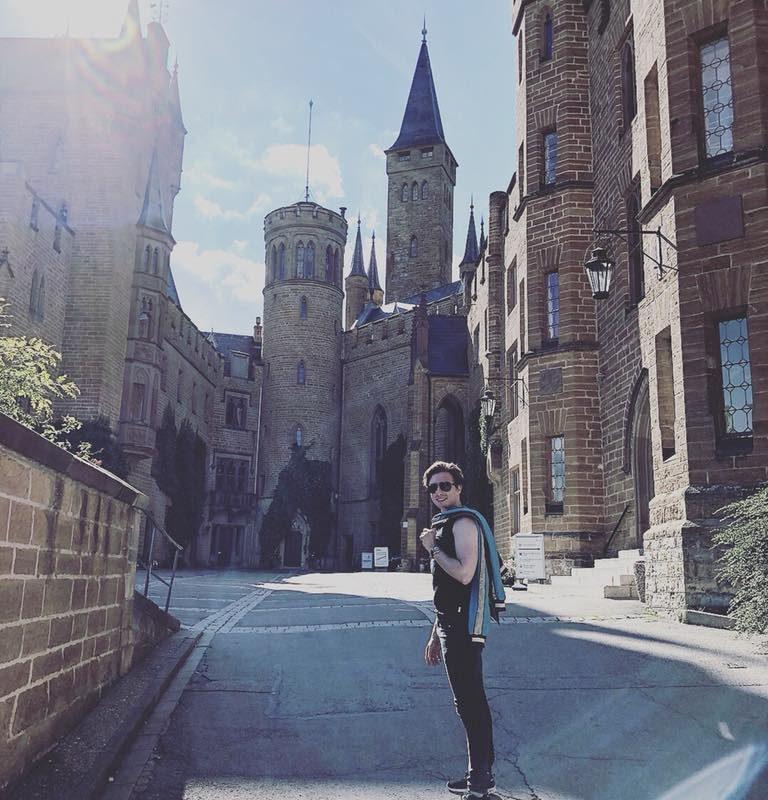 Hatte gestern den schönsten Tag mit Jonna Schwertner auf Schloss Hohenzoller ...