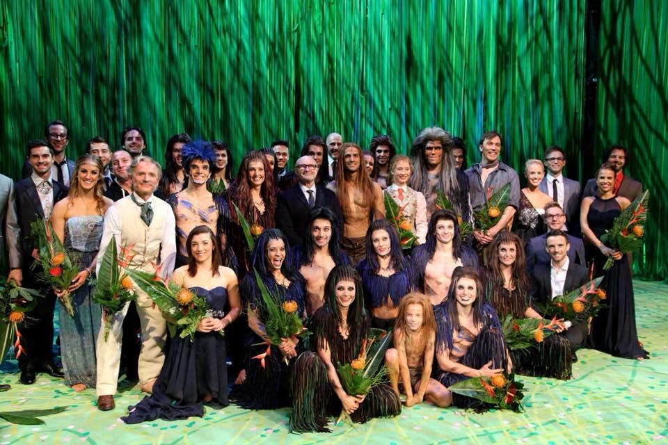 Ich wünsche allen in Tarzan eine wundervolle letzte Show !!! Schaukeln Sie den Dschungel! Monkeyhug t ...