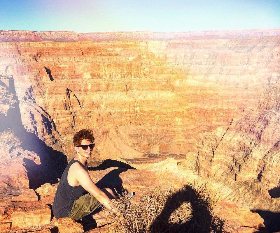 Ich werde niemals den Moment vergessen, als ich an den Klippen des Grand Canyon ...