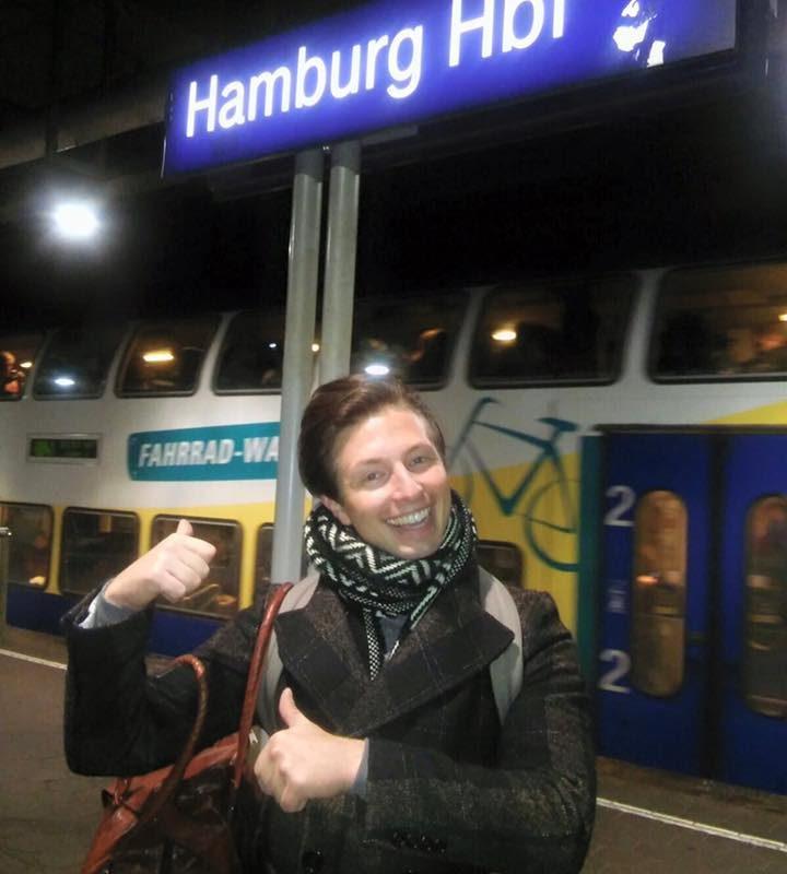 Mal wieder in Hamburg gewesen.