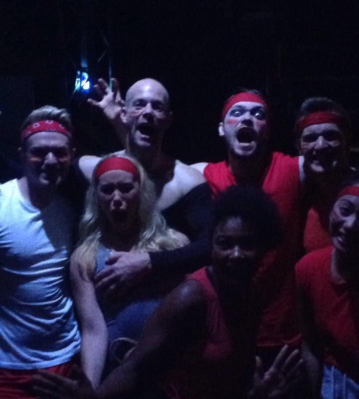 Rotes Team ist bereit für die skateshow !!!!! Macht euch bereit !!!!