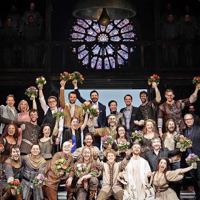 Was für eine wundervolle Besetzung! #premiere # disneyderglöcknervonnotredame #cast #musical # ...