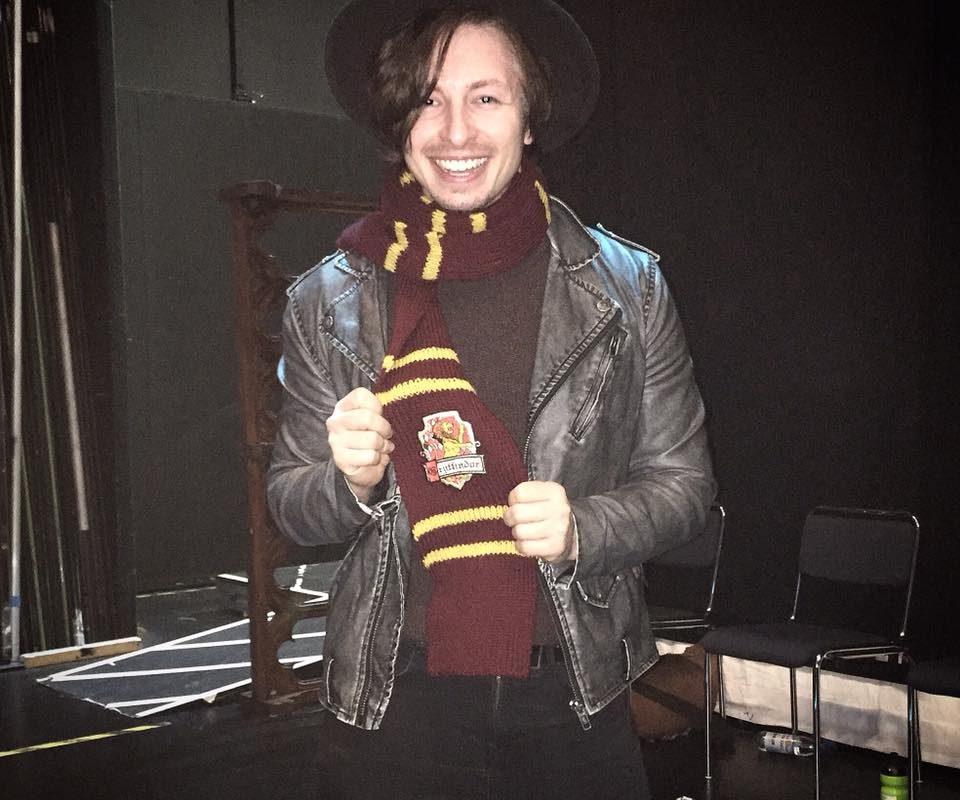 Zehn Punkte für Gryffindor! Liebe meinen Harry Potter Schal! Ein weiterer Doubleshowday in ...